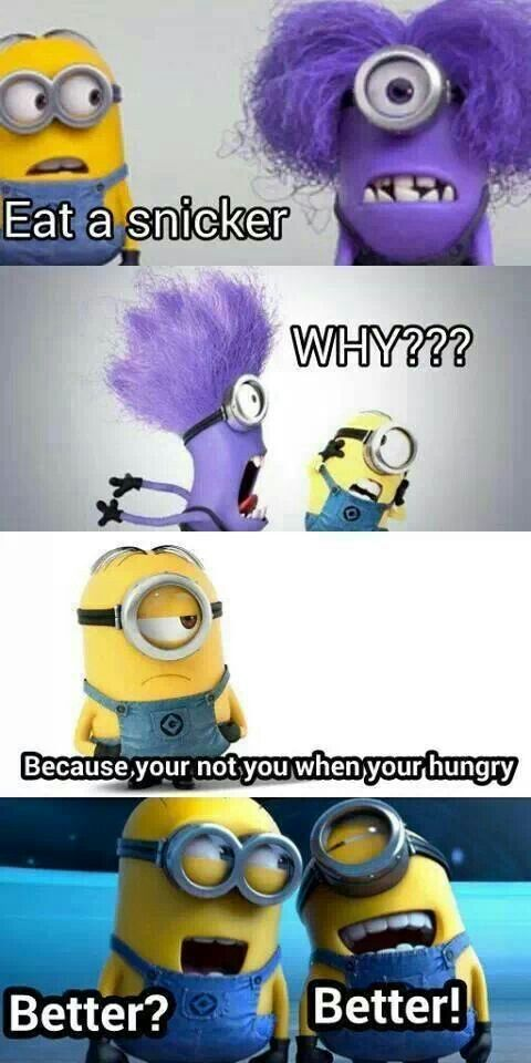 I know they aren't sheep's they are minions but the purple ones hair kinda looks like a sheep's wool. Or is that just me?