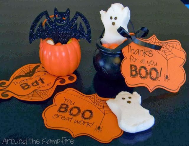Thanks for all you Boo! *FREEBIE* Halloween gift tags for students, staff and teacher friends!