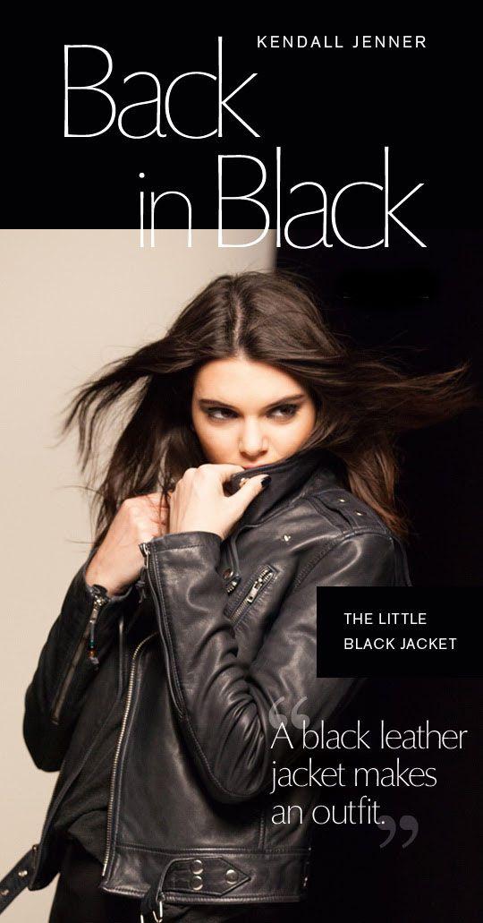 Kendall Jenner's Black Jacket Outfit - http://poshwomen.com/kendall-jenners-black-jacket-outfit/ - #BlackOutfits, #CelebrityFashion, #Jackets, #KendallJenner