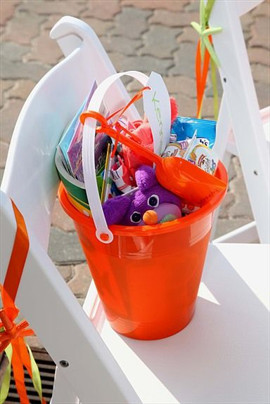 Perfect wedding favor for the children attending your beach themed wedding and reception. www.ezweddingsinparadise.com
