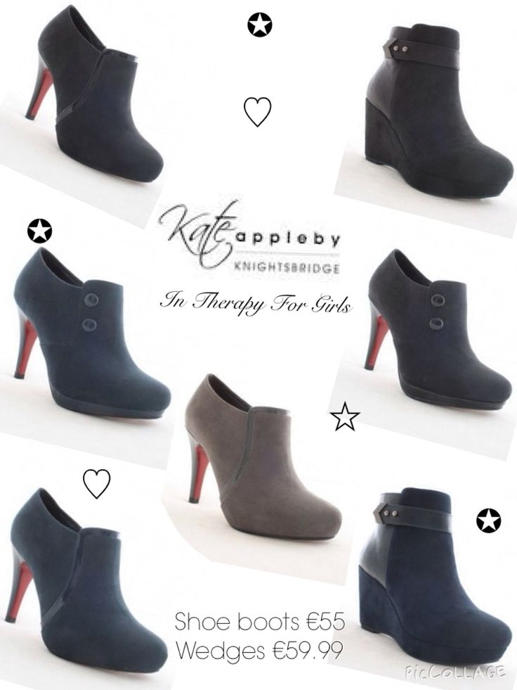 AW14/15 Kate Appleby Footwear in Therapy For Girls   Sizes 3-8   Prices range from €55 to €75