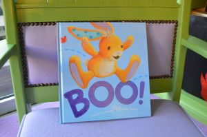 Kids Nook Reads: Boo! A little rabbit who learns that all surprises are not appreciated... but some surprises can be the best!