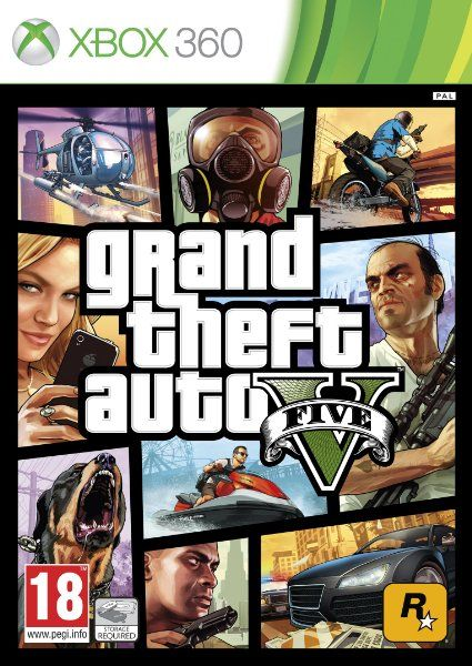 Grand Theft Auto V (Xbox 360):Amazon.co.uk:PC & Video Games