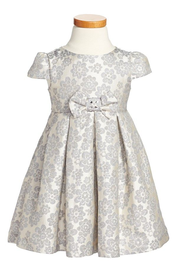 Floral Jacquard Dress (Toddler Girls, Little Girls & Big Girls) Nordstrom Holiday 2014