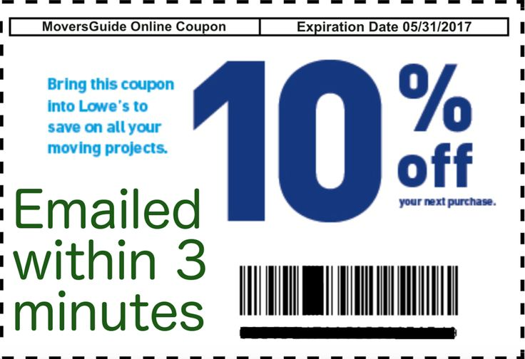 Lowes discount coupons for realtors