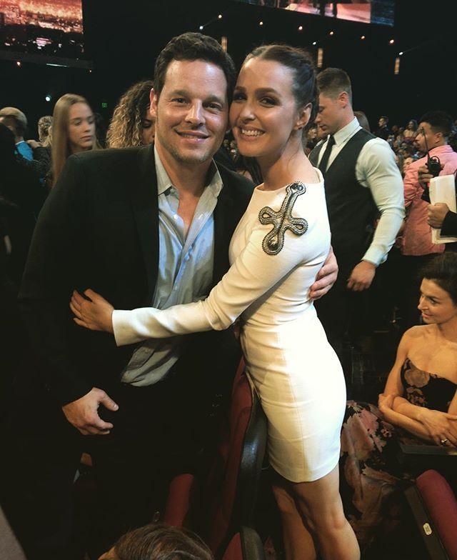 Justin Chambers and Camilla Luddington