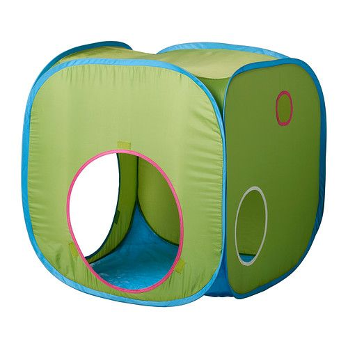 IKEA - BUSA, Children's tent, , Creates a sheltered spot, a room in the room, to play or just cuddle up in.Easy to move or take down when not in use.