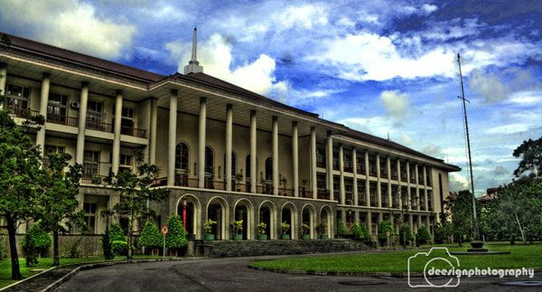 Gadjah Mada University, Yogyakarta. The oldest university in Indonesia.