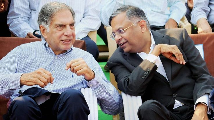 Tata Sons chairman Emeritus Ratan Tata on Friday said the Tata Group is in the safe hands of N Chandrasekaran, who will take it to a new level of progress and growth.