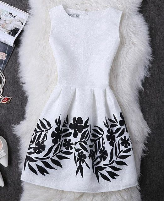 Women Summer Dress 2017 Vintage Jacquard Printed Sexy Party Mini Dresses