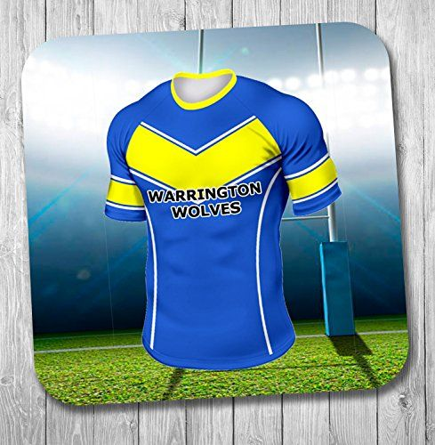 warrington wolves rugby ball