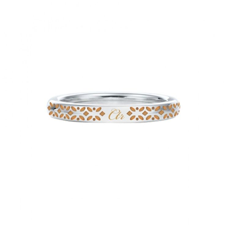 Solstice Stainless Steel with Rose Gold Inlay CTR Ring - CTR Rings - LDS Jewelry