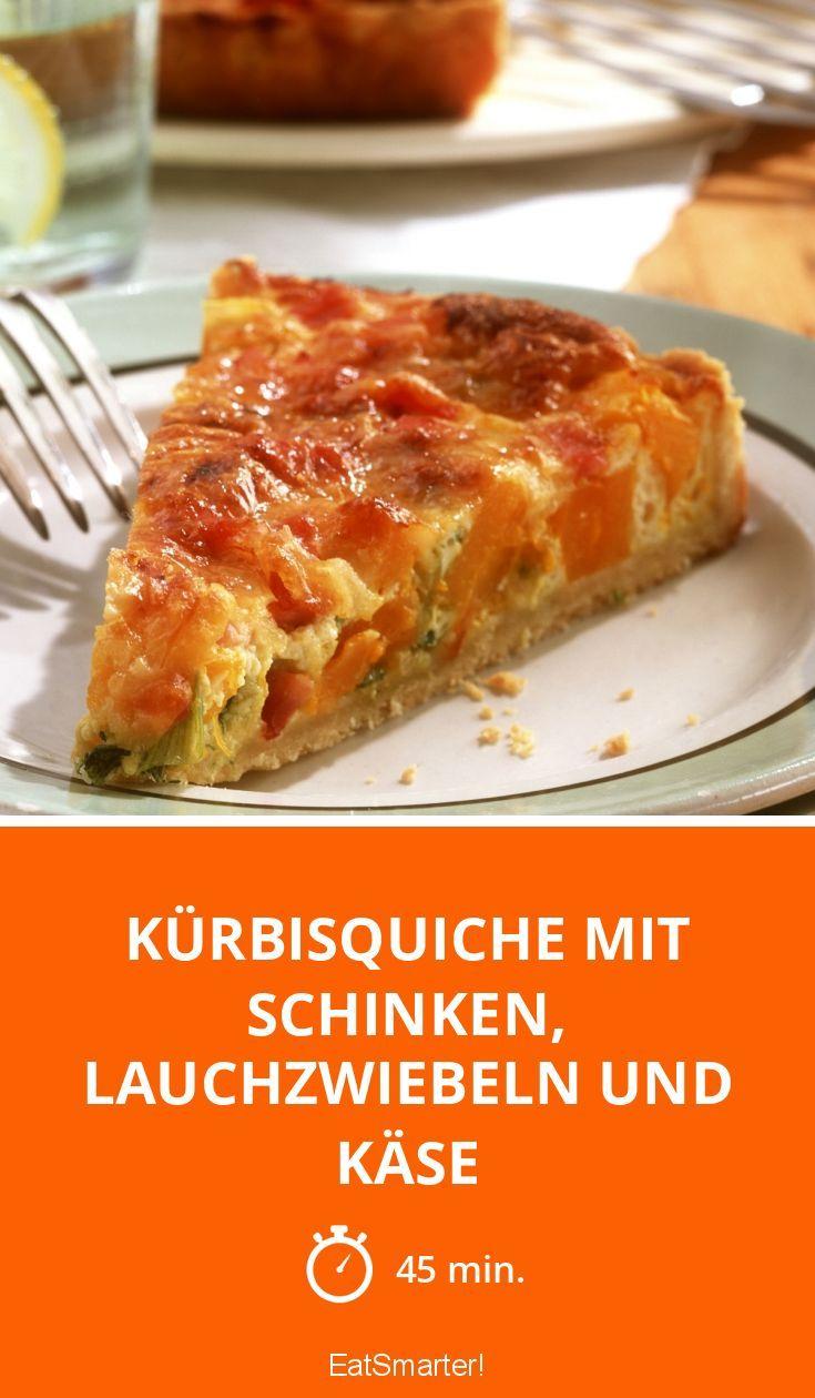 Kürbisquiche zum Verlieben | eatsmarter.de