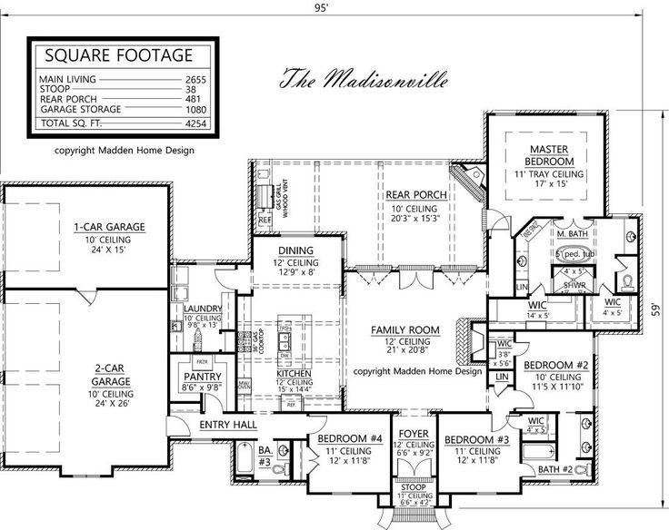 Madden home design the madisonville house plans for Madden house plans