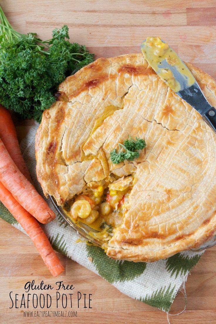 gluten free seafood pot pie meal #seafood #glutenfree #Bobsredmill