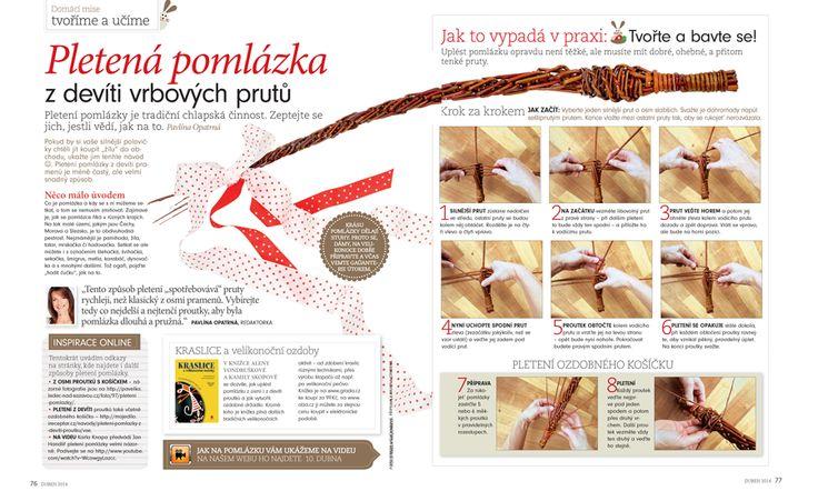 Pomlázka z devíti prutů   Something about Czech tradition on Easter
