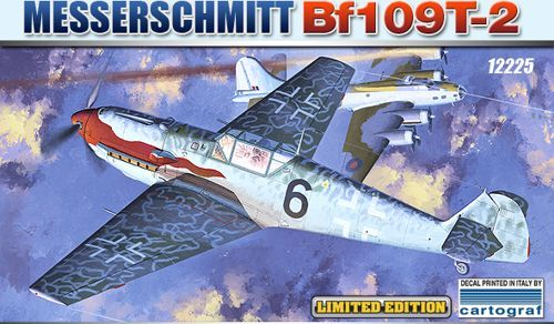 Messerschmitt Bf 109T-2. Limited Edition. Academy, 1/48, injection, No.12225. Price: 18 GBP.