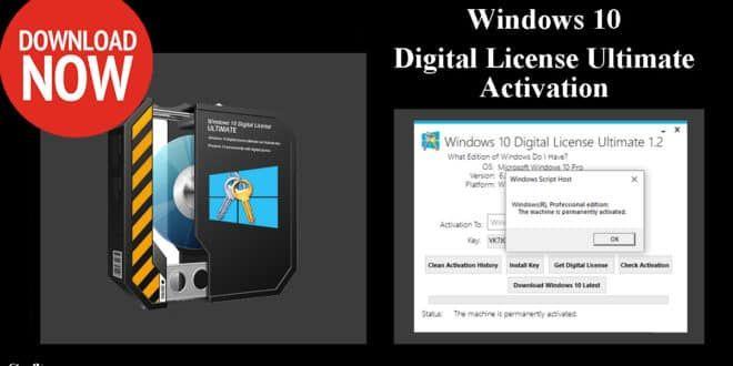 Windows 10 Digital License Ultimate Portable Activation Windows 10 Data Storage Device Using Windows 10