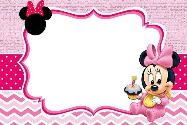 Ideas De Temática De Minnie Mouse Bebé Para Cumpleaños