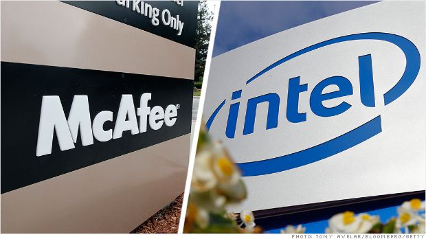 Intel renames its McAfee security brand
