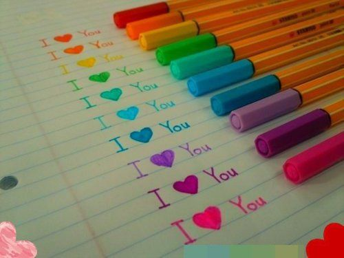stabilo pens...love them. via tumblr