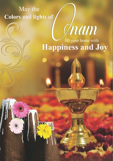 May the colors and lights of #Onam fill your home with Happiness and joy Happy Onam. Spread this message of love and prosperity to your loved ones through our beautiful #GreetingCards and #Gifts.