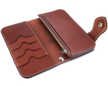 Rakuten: Wallet men gap Dis long wallet long wallet leather leather KC,s Kay chinquapin : Chief riders wallet copter Teiji-free cut- Shopping Japanese products from Japan-SR