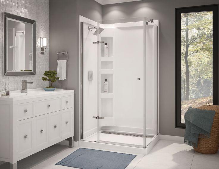 A Modern Shower For A Minimalistic Bathroom Design Http