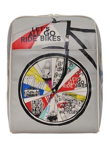 Dogo Let's All Go Ride Bikes Sırt Çantası - Fotoğraf 40