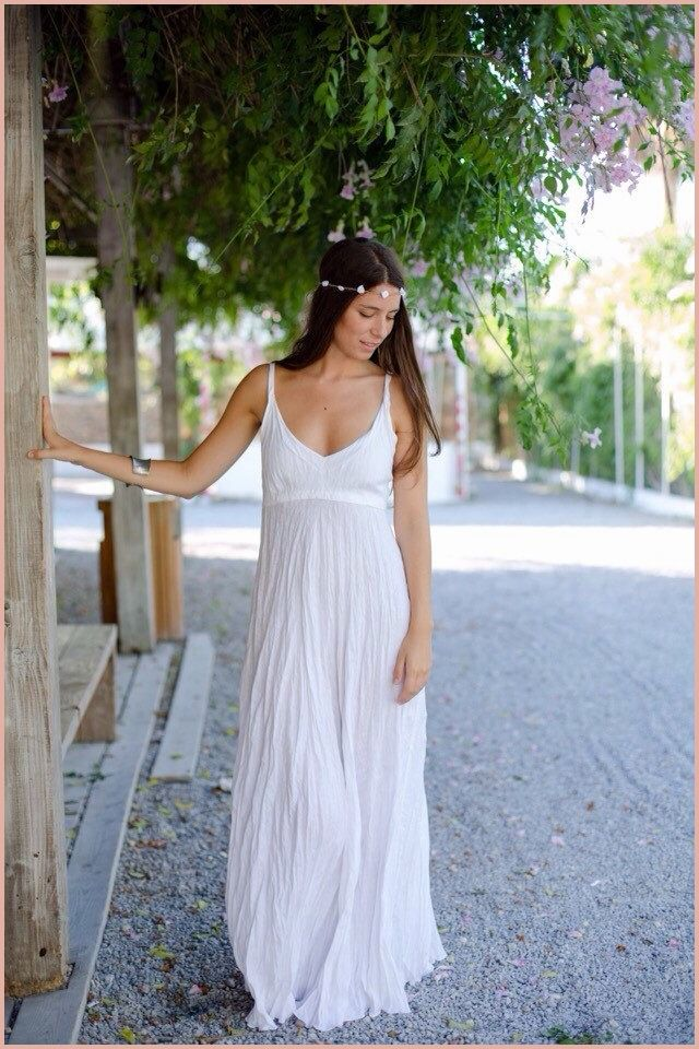 Linen Beach Wedding Dress 13 Conclusion Of 2020 Linen Wedding Dress White Linen Maxi Dress White Linen Dresses