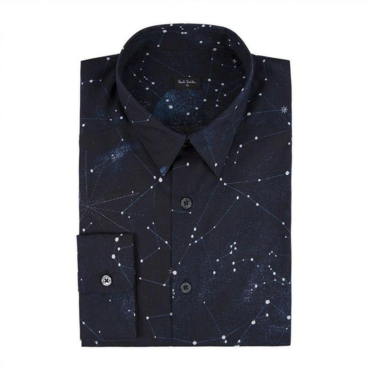 via wickedgirlssavingourselves:  Shirt with constellations on it.
