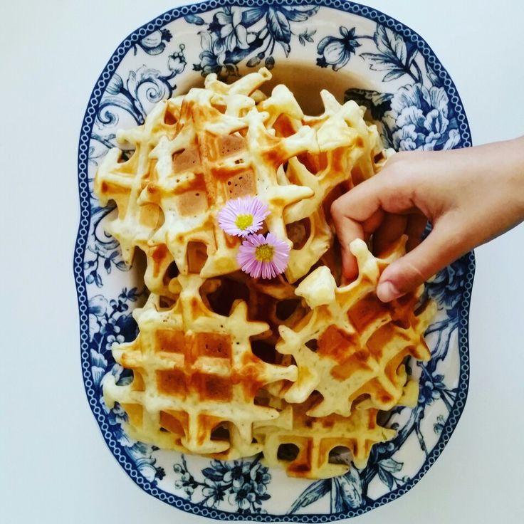 Waffle kulesi 😊