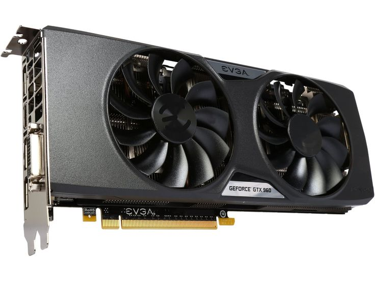 EVGA 02G-P4-2966-KR GeForce GTX 960 Gaming 2GB 128-Bit GDDR5 PCI Express 3.0 HDCP Ready SLI Support SuperSC ACX 2.0+ Video Card - Newegg.com