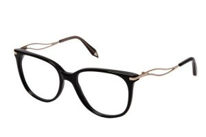 Victoria Beckham Designs Glasses She'll Wear All the Time http://lcky.mg/Rk2UeA #spectacles, #eyeglasses, #frames, #goggles,#shades.