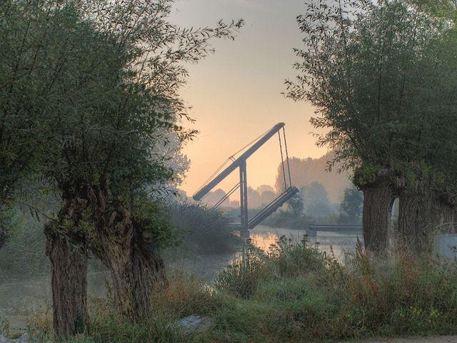 Ophaalbrug Zoetermeer by hansdjong, via Flickr