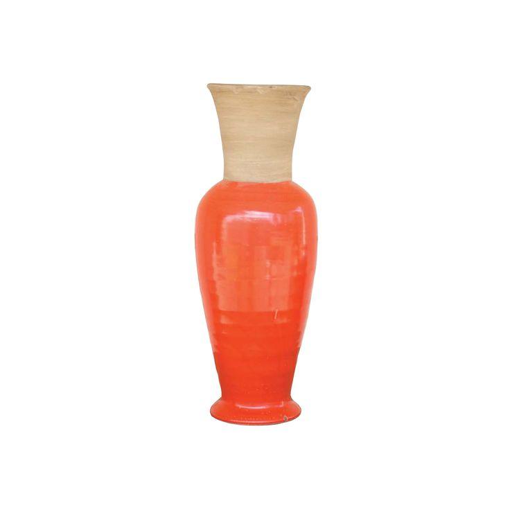 Hawaiian Sunset Vase in Orange | dotandbo.com