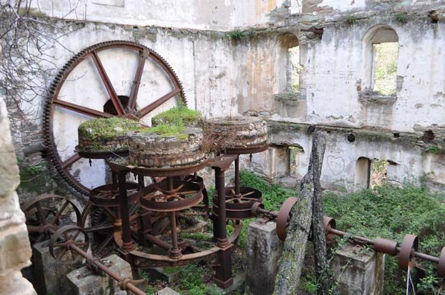 Stenies Watermill Andros
