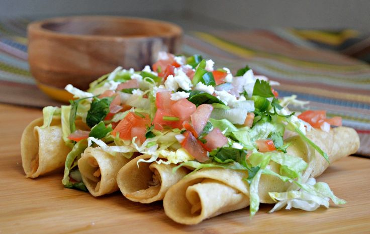 """Para leer en Español haz click aqui The best Mexican dishes are definitely """"los antojitos"""", which include tostadas, empanadas, huaraches, and sopes to mention a few, and of course the famous flautas! In this recipe I will show you how to make this delicious meal and hopefully you will be able toenjoy a small piece …"""