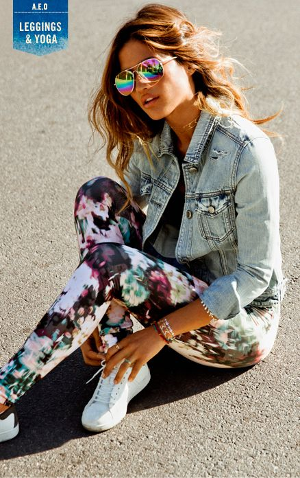 Our collection of Women's Leggings at American Eagle Outfitters are perfect with your favorite skirts, dresses and tops.