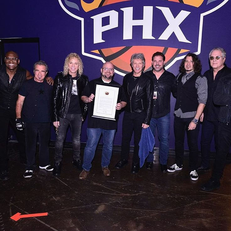 """74 Likes, 4 Comments - Talking Stick Resort Arena (@tsrarena) on Instagram: """"It's official! From this day forward, March 4th shall be known as @bonjovi day here in Phoenix!…"""""""