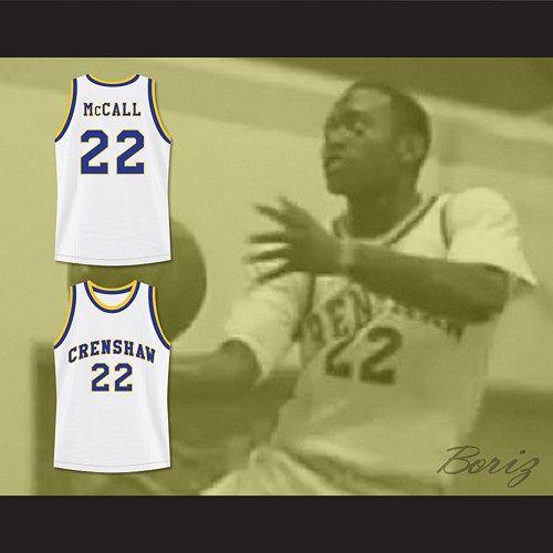 Quincy McCall 22 Crenshaw High School Basketball Jersey