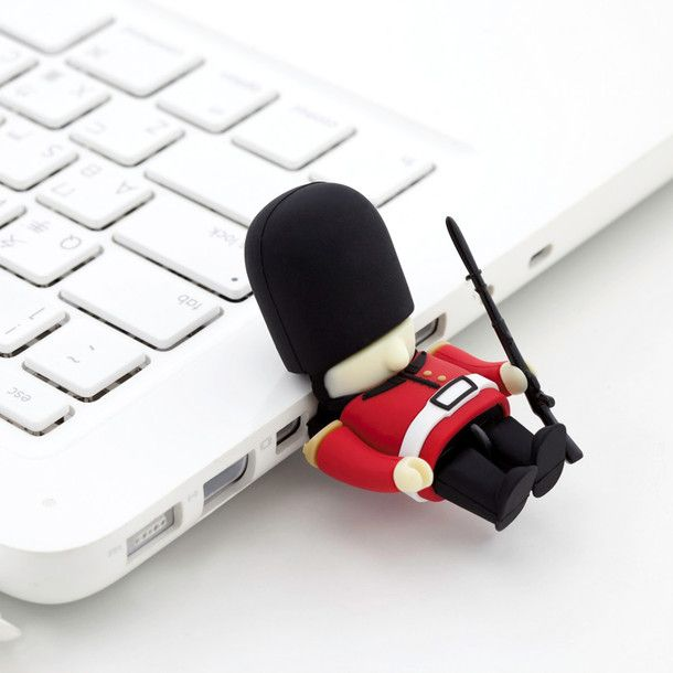 Queen's Guard DIY USB by Bone Collection | Fab.com