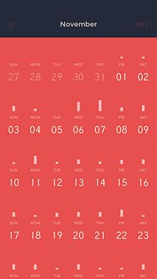 Peek Calendar1
