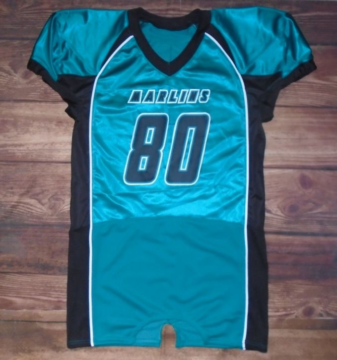 Marlins Football Custom Jersey Created At Bell S Sporting Goods Inc In Lafayette La Create Your Own Custom Uniform Custom Uniform Custom Jerseys Fun Sports