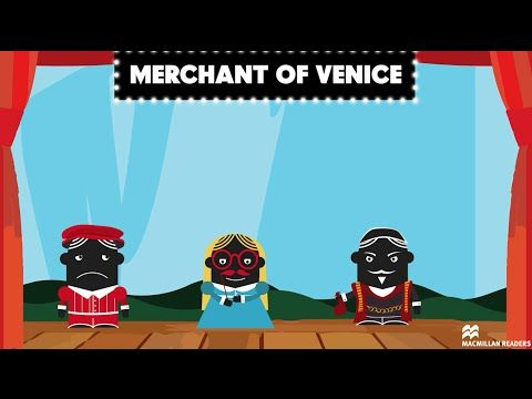 "Shakespeare for Life: The Merchant of Venice. ""In this episode of our 'Shakespeare for Life' series, we talk about money and the lessons that can be learnt from The Merchant of Venice, including 'All that glitters is not gold....'"" ― a video via Macmillan Education ELT YouTube channel."