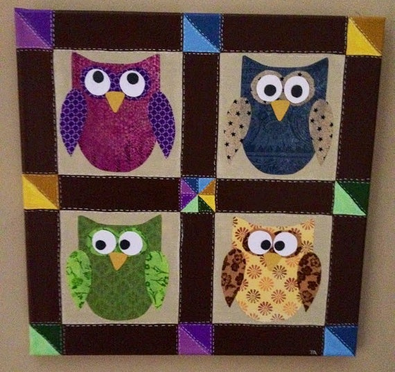 1000+ images about Quilts- Owls on Pinterest Owl paper, Night owl and Quilt patterns