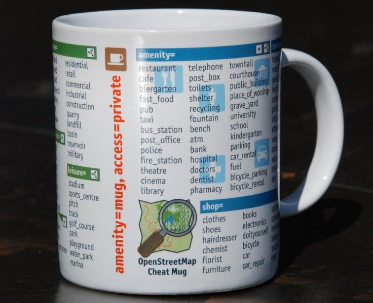 OpenStreetMap Mug