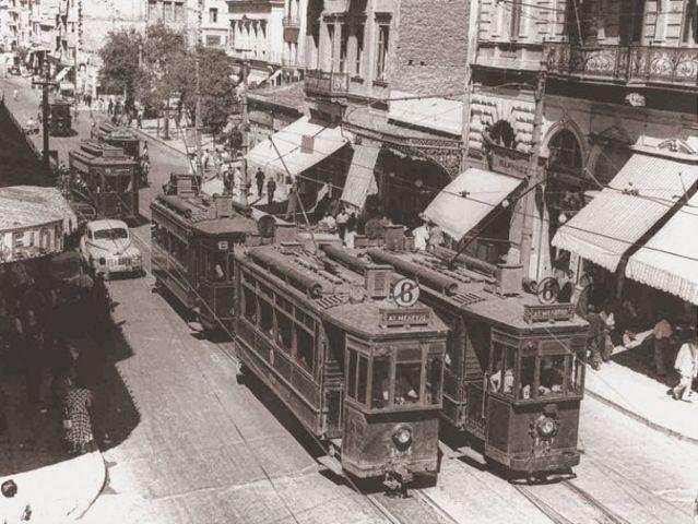 Ποια χρονιά σταμάτησε η λειτουργία του παλιού τραμ