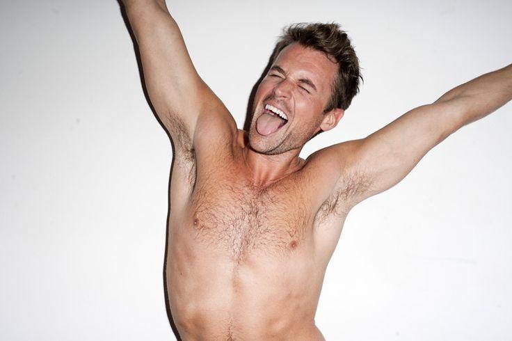 brad goreski shirtless