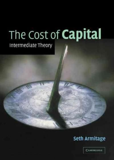 Cost of Capital: Intermediate Theory
